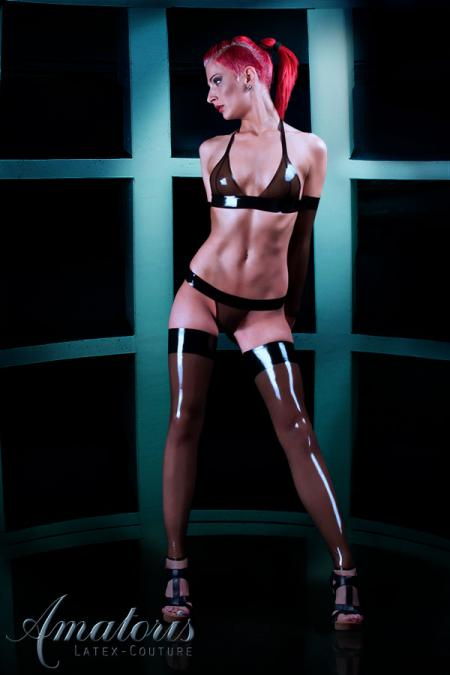 Latex-Lingerie-Set LI0004