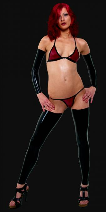 Latex-Lingerie-Set LI0001