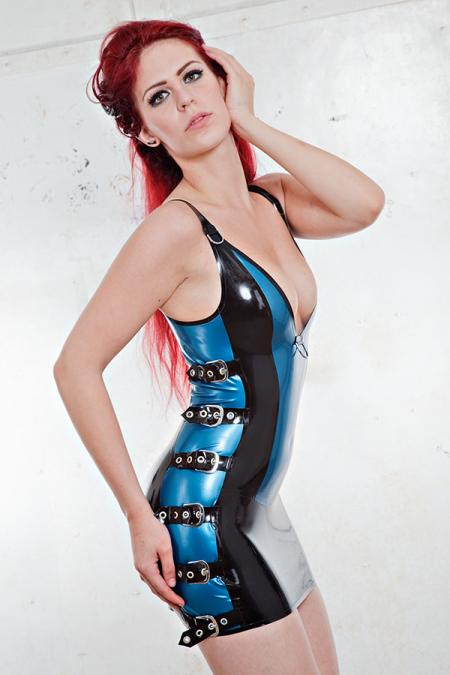 Latex-Dress KL0043